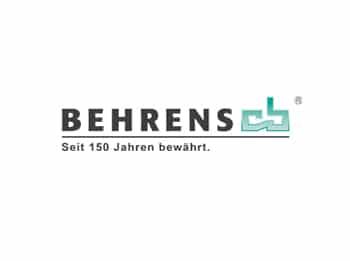 Logo Behrens, Referenz HANSE Interim