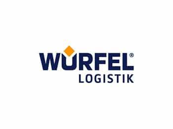 Logo Würfel Logistik, Referenz HANSE Interim
